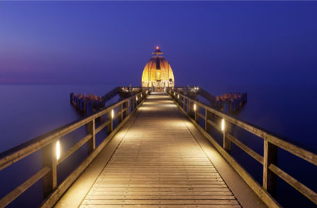 Фотообои мост пирс Sellin Pier (city-0000995)
