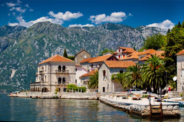 Фотообои черногория котор (city-0001020)