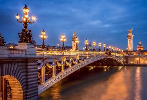 Мост Александра III, Париж - Фотообои (city-0001378)