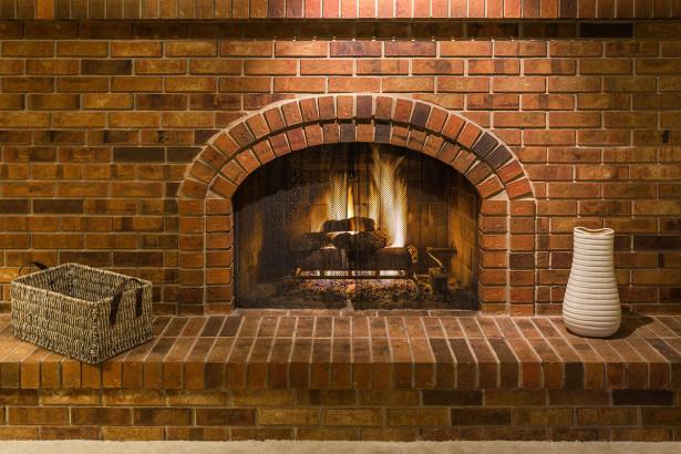 Фотообои камин с полочкой (fire-020)