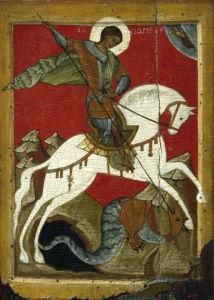 Икона Георгия Победоносца (icon-00084)