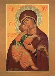 Икона Божией Матери Владимирская (icon-00111)