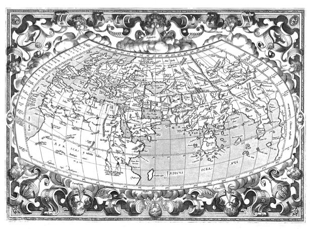 атлас, география, карты, старая карта (map-0000073)