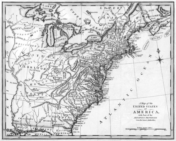 атлас, география, карты, старая карта (map-0000093)