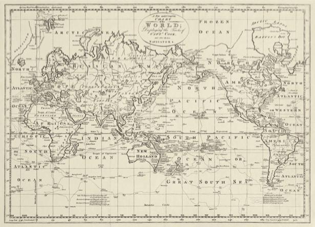 атлас, география, карты, старая карта (map-0000144)