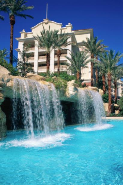 Фотообои природа водопад гостиница (nature-00382)