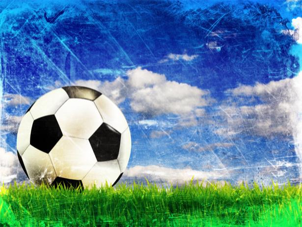 Фотообои мяч поле (sport-0000024)