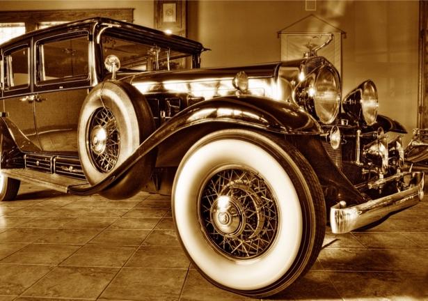 Фотообои ретро авто сепия (transport-0000002)