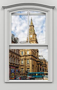 Фотообои Лондон за окном (win-25)