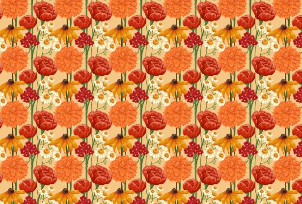 Скатерть Цветочная (0153)