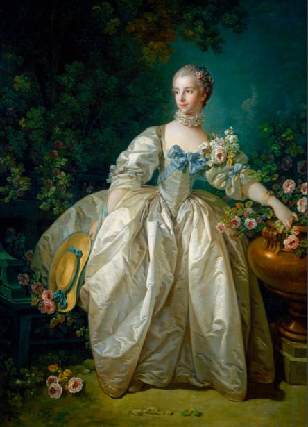 портрет барышни с книгой, Франсуа Буше (art-0000125)