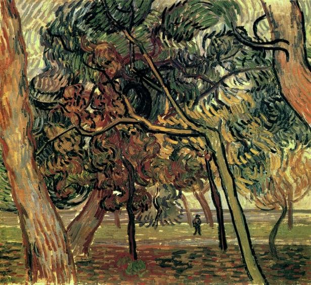Ван Гог пейзаж (art-0000264)
