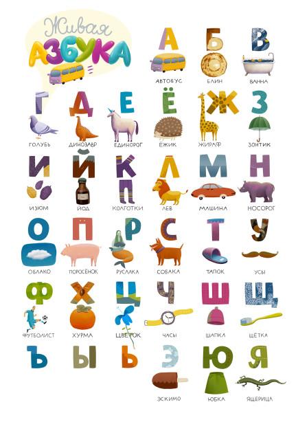 Фотообои Живая азбука (child-425)
