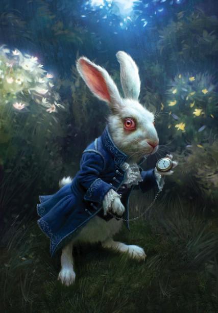 Фотообои Белый кролик (child-507)