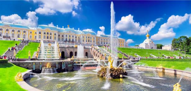 Фотообои Петерго́ф Большой каскад (city-0000614)