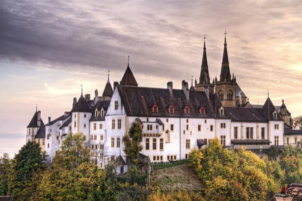 Фотообои Швейцария дворец (city-0000765)