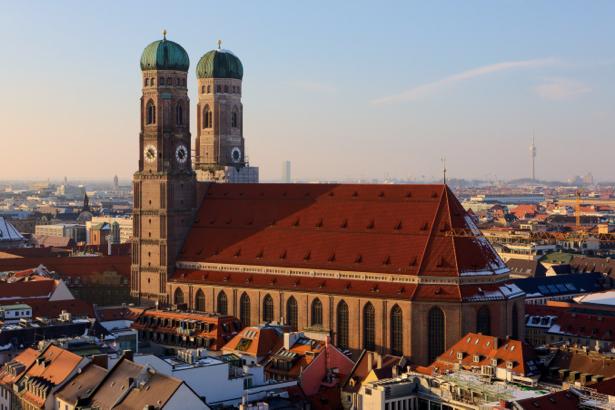 Фотообои архитектура мариенплац мюнхен (city-0001077)