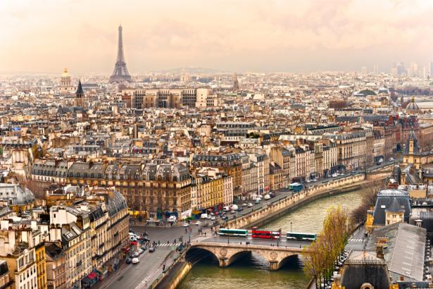 Гавр фотообои Париж Франция (city-0001368)