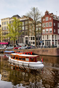 Фотообои Амстердамский канал (city-1459)