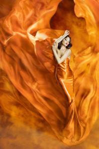 Фотообои танец в огне (dance-1)