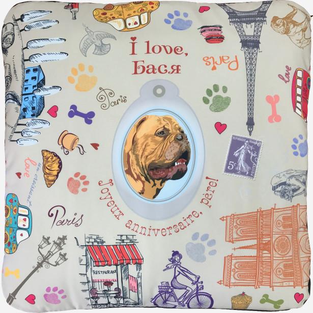 Подушка для Баси (dog-5)