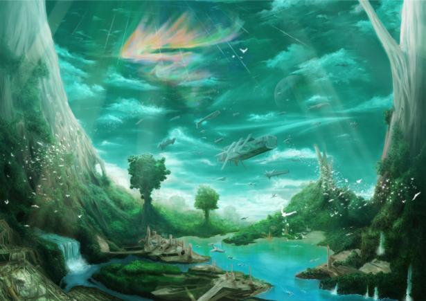 Фотообои фентезийная природа (fantasy-0000017)