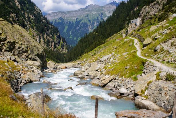 Фотообои горная река фото (nature-0000781)