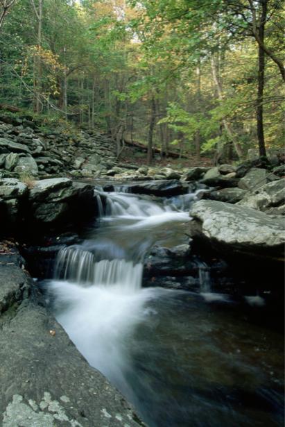 Фотообои природа горный водопад (nature-00381)