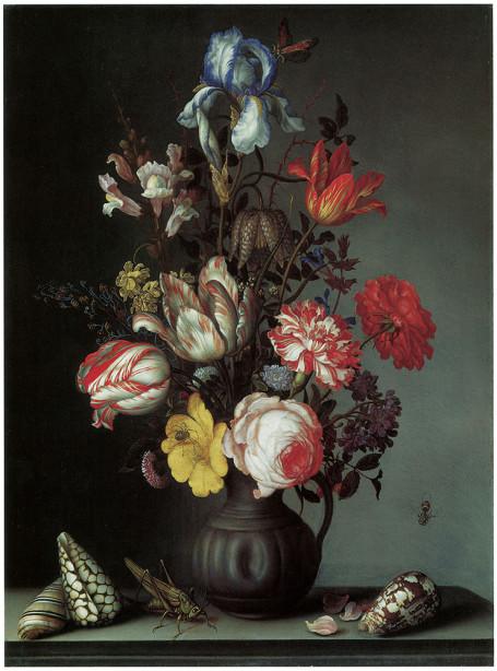 Живопись натюрморт с цветами (pf-3)