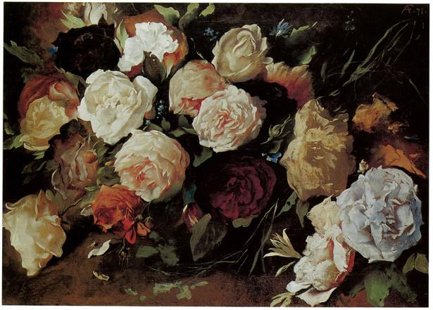 цветы букет натюрморт (pf-45)