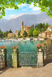 Фотообои Итальянская набережная (printmaking-0000138)