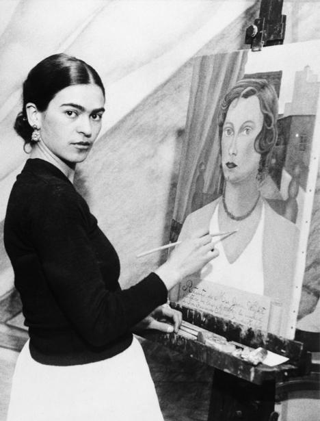 Фотообои Фрида Кало художница (retro-vintage-0000264)