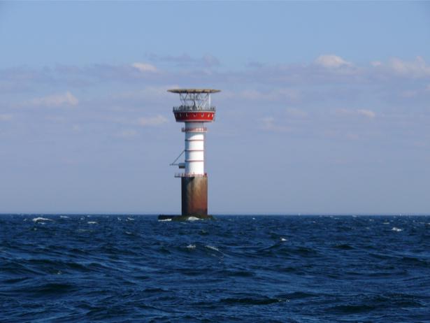 Фотообои маяк в море (sea-0000235)