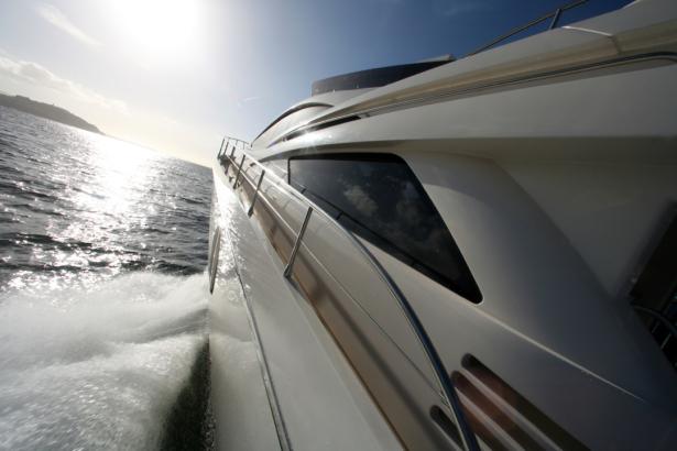 Фотообои фото с катера (transport-0000268)