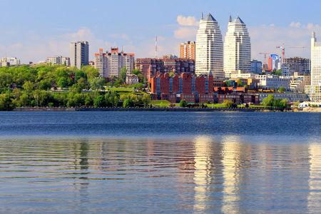 Фотообои Вид на Днепр с реки (ukr-67)