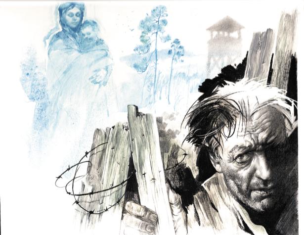 иллюстрации к произведению Г. Тютюнника - Три кукушки с поклоном (ukraine-0206)