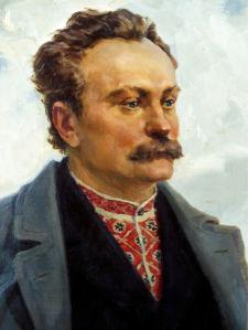 Портрет Ивана Франка (ukraine-0214)