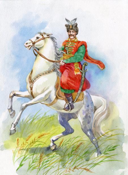 Украинский казак (ukraine-0218)