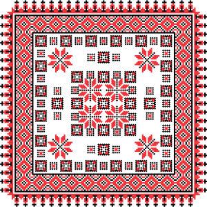 Скатерть украинские чернобрывцы (0125)