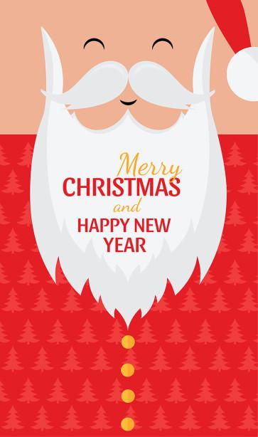 Скатерть Санта Christmas (217)