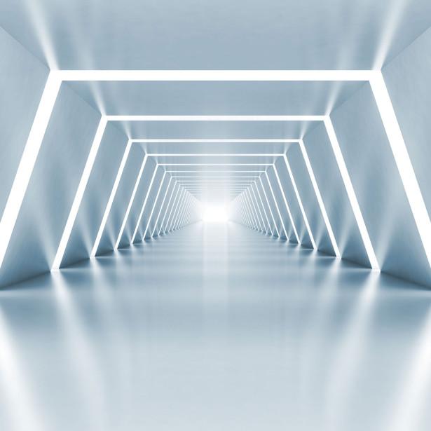 Фотообои Стены с подсветкой (3d17)