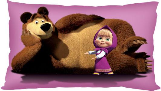 Подушка Маша и медведь (child-11)