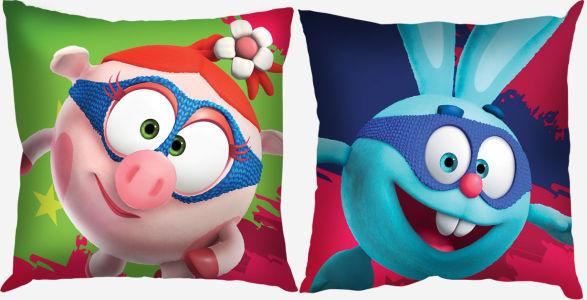 Подушка Нюша и Крош (child-5)