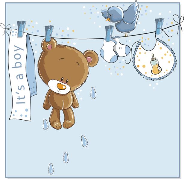 Мишка Тедди Детские фотообои (children-0000288)