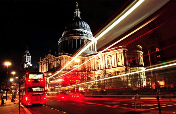 Фотообои Лондон ночью, Англия (city-0000095)