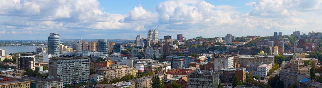 Фотообои Днепропетровск архитектура города (city-0000961)