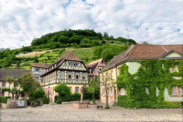 Фотообои Heppenheim Германия (city-0001092)