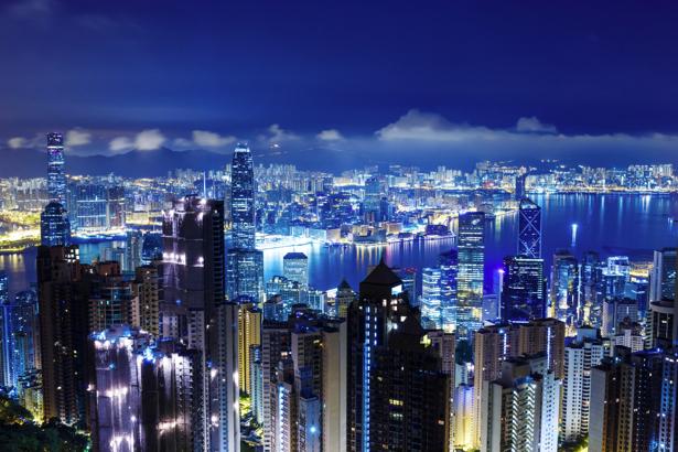 Фотообои ночной город мегаполис (city-0001144)