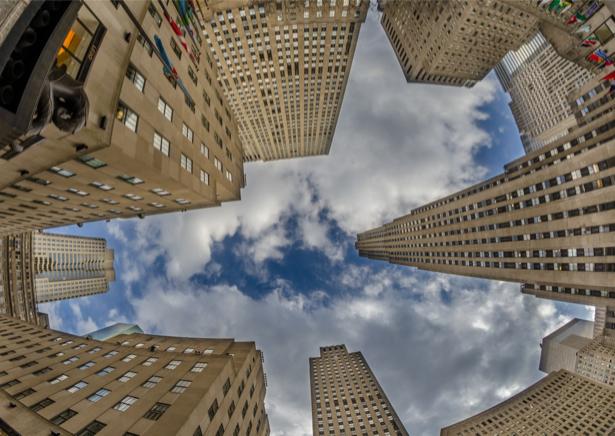Фотообои небоскрёбы старые америки (city-0001164)
