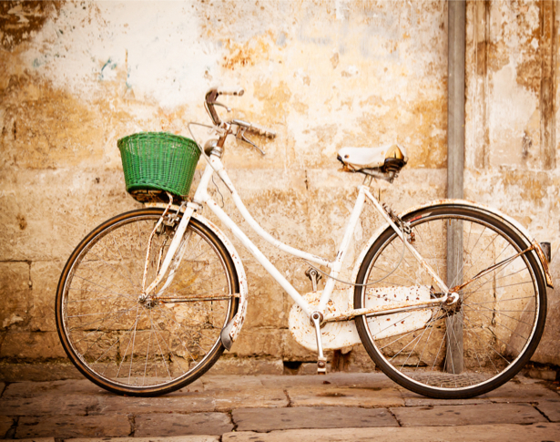 Фотообои велосипед ретро (city-0001205)